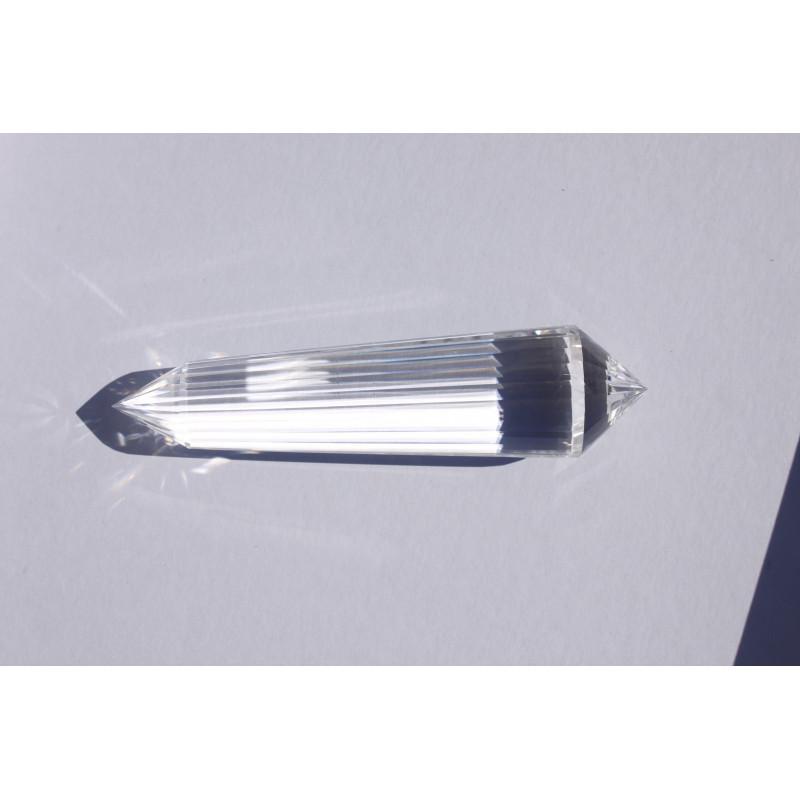 Regenbogen Amethyst Phi-Kristall