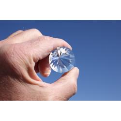 Ametrin Dorine 12 Facet Phi-Crystal