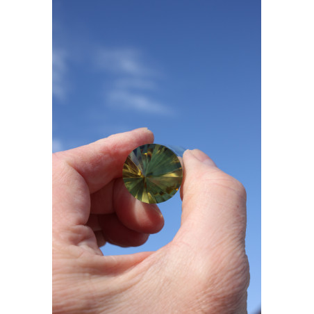 Heartbreaker Citrine 24 Facet Phi-Crystal