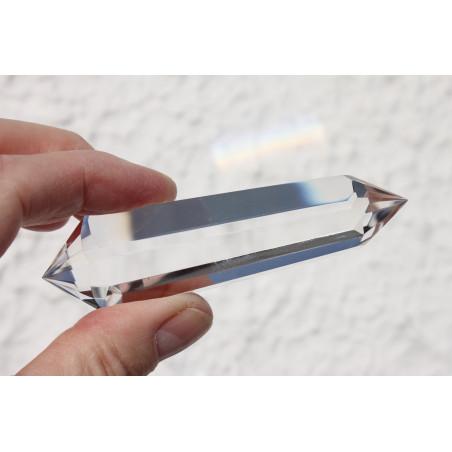 Einhorn aus Bergkristall 320g