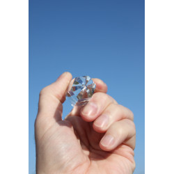 Metatron Smoky Quartz 13 Facet Phi Crystal