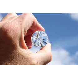 Horus 24 facets Phi Crystal