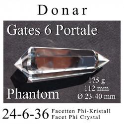 Athame 6 Portale Phi-Kristall