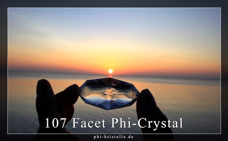 107 Facet Phi Crystal