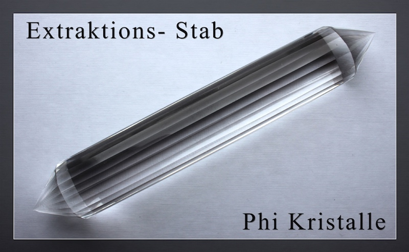Extraktions- Phi-Kristalle