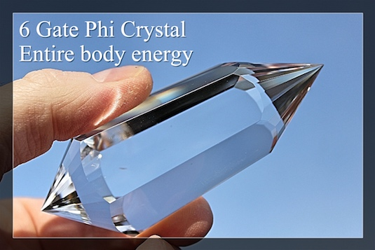 6 Gate Phi Crystals