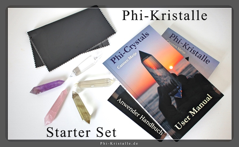Starter Paket Phi-Kristalle
