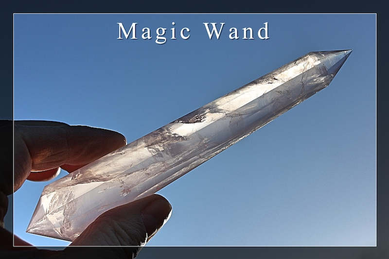 Magic Wands Phi-Crystals