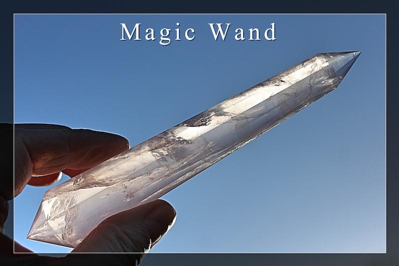 Magic Wands Phi-Crystals